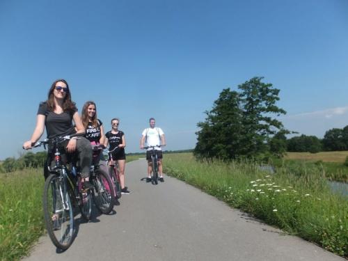 Rajd rowerowy Wiślaną Trasą Rowerową