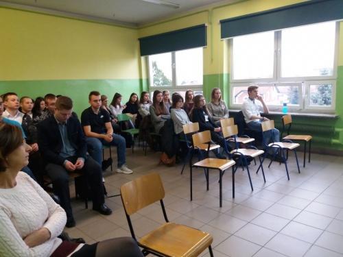 Współpraca ze szkołą w Brzeszczach